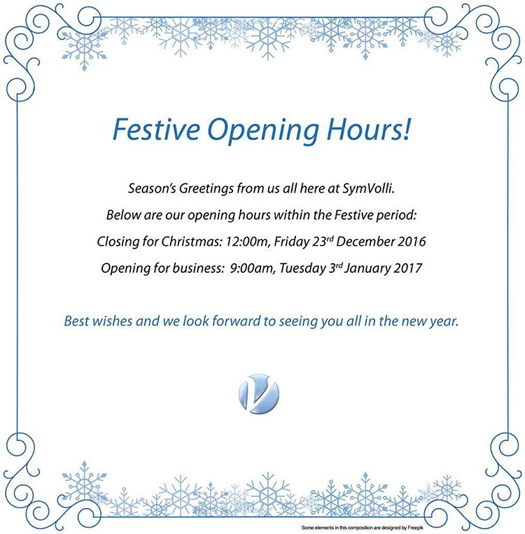SymVolli Opening Hours