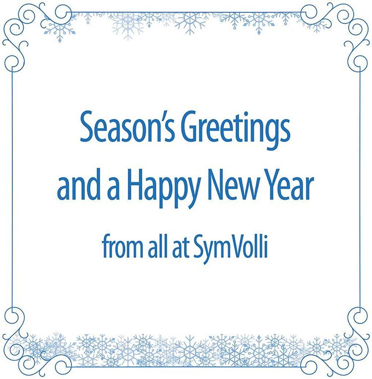Season Greetings from all at SymVolli